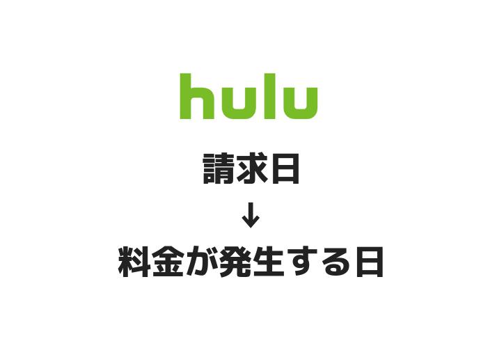huluの請求日