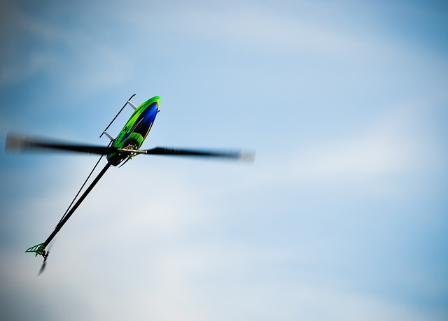 ラジコンの飛行機