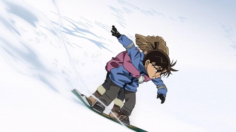 沈黙の15分 スキー場