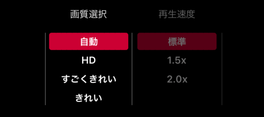 dTV 画質