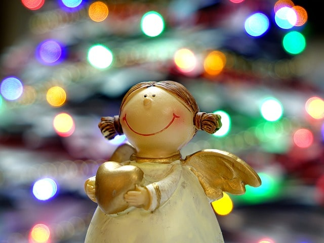 クリスマスの人形(女の子)