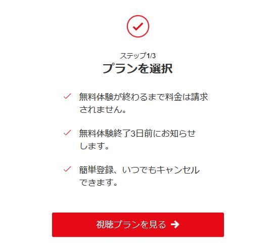 Netflix登録②