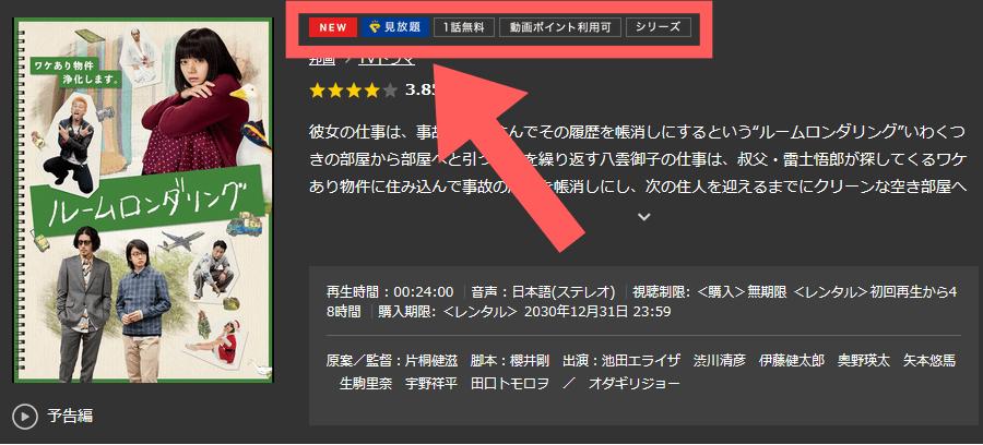 TSUTAYA TV 見放題作品