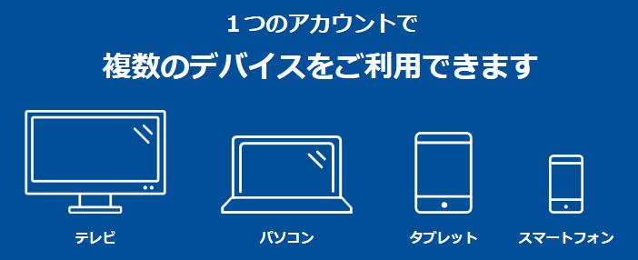 パラビの複数デバイス