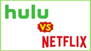 huluとnetflixの比較