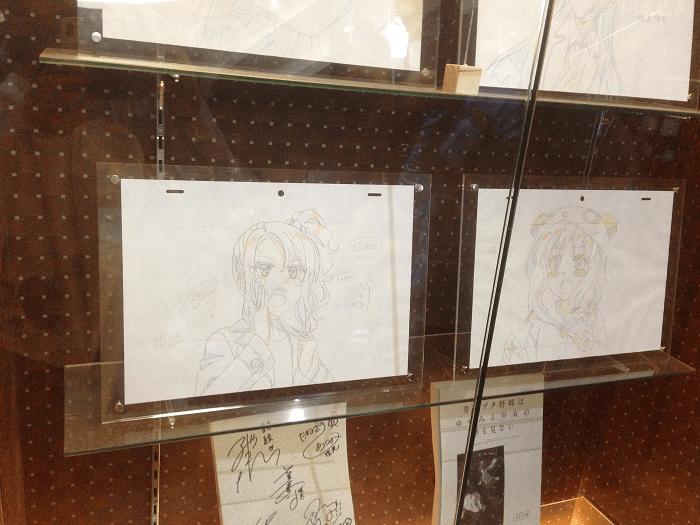 原画の展示