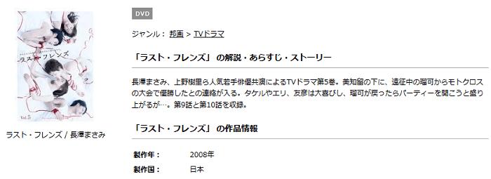 TSUTAYAのラスト・フレンズ