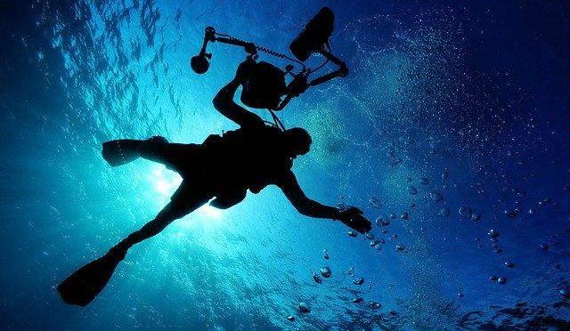 スキューバダイビングの写真